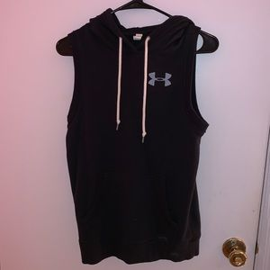 under armour sleeveless hoodie